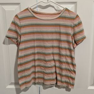 American Eagle Striped Tee
